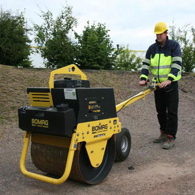 Our class-leading walk-behind rollers are designed for superior productivity.